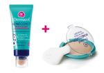 Dermacol Acnecover 30 ml č.2 + pudr Acnecover Shell 11 g