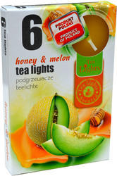 Tea Lights svíce čajová honey & melon 6 ks /455/