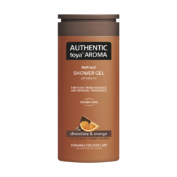 AUTHENTIC sprchový gel 400 ml chocolate &  orange /čokoláda s pomerančem/