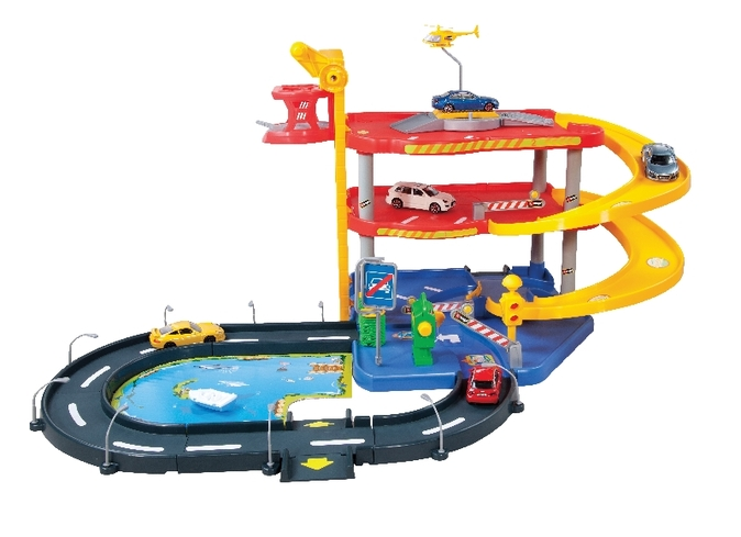 Bburago garáž Parking Playset