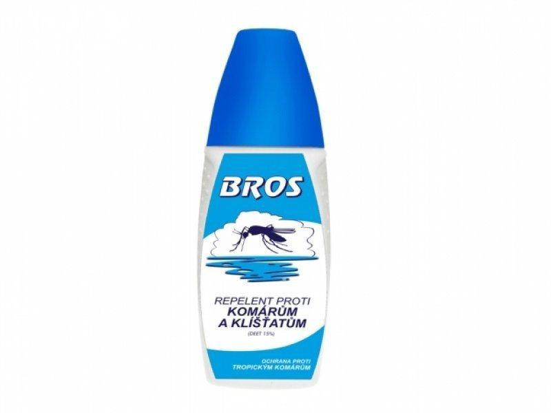 Bros spray proti komárům a klíš. 50ml