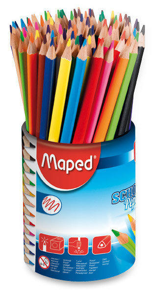 Pastelky trojboké Maped Color Peps dóza 72 ks